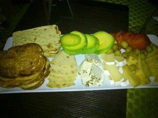 Cafe San Rafael : Tabla de quesos