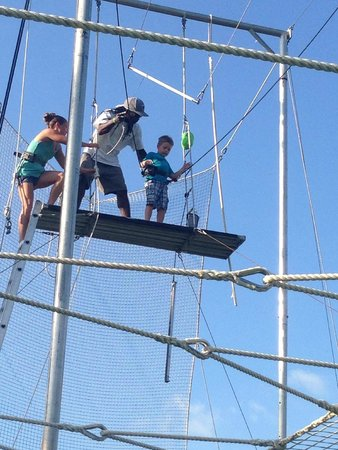 Aerial Trapeze Academy : My son's seventh birthday.
