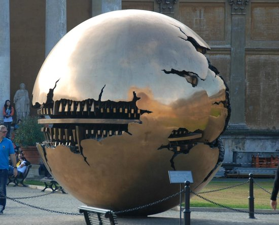 Sphere within a Sphere, Vatican City
