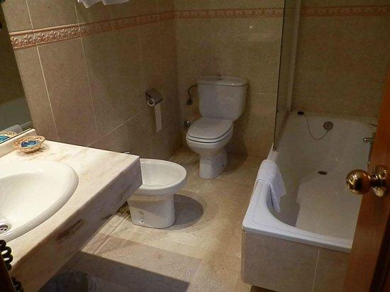 Hotel Sacromonte: vista del baño
