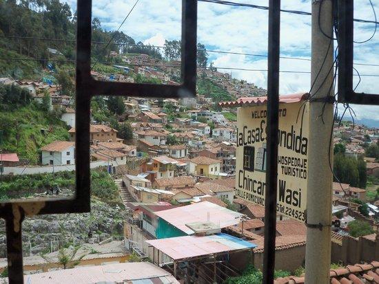 Hotel Chincana Wasi - La Casa Escondida: Vista desde la habitación