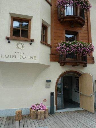 Hotel Sonne: Eingang Hotel