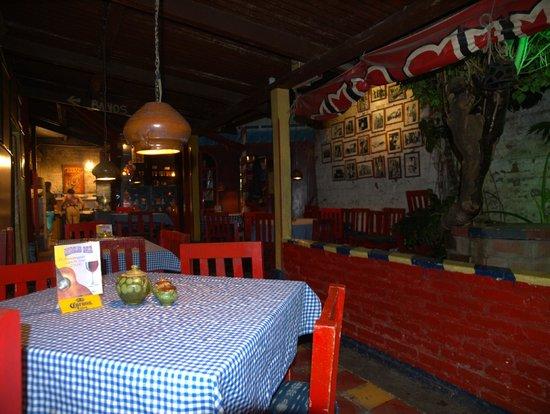 Circus Bar: Detalle de la zona de comedor