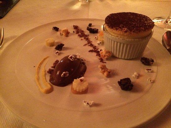 Rust en Vrede Restaurant: The mind-blowing sweet corn soufflé