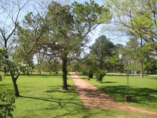 Rancho Iberá: Plaza de Colonia Pellegrini