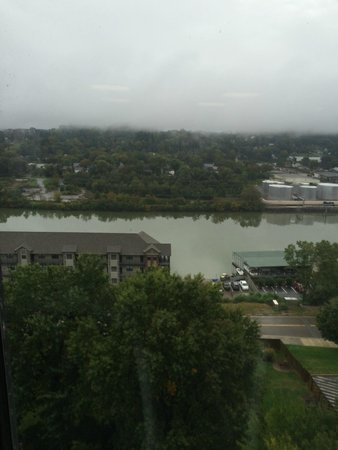 Knoxville Marriott: View of the River from the fitness center