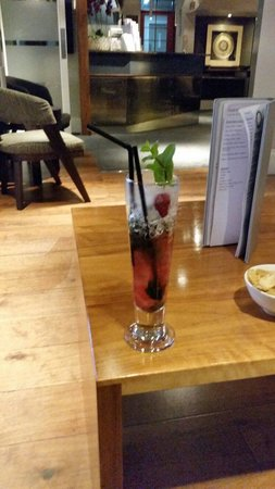 Studley Hotel and Orchid Restaurant : Raspberry mojito