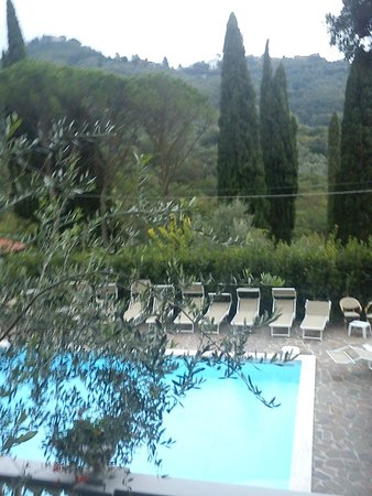 Hotel Villa Maria: View from the pool