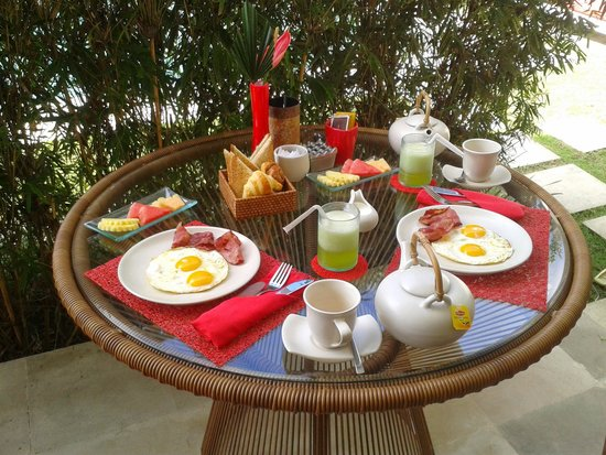 Rouge - Villas & Spa : Yum. Breakfast