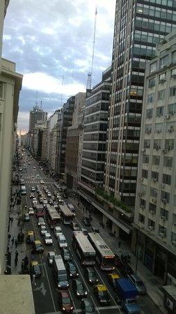 NH Collection Buenos Aires Jousten: El Obelisco desde el hotel
