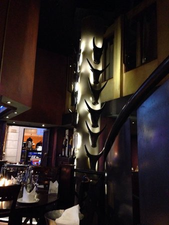 Tribes African Grill & Steakhouse: African decor