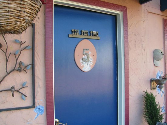 "Seaside Motel: Door to ""Tea For Two"" #5"