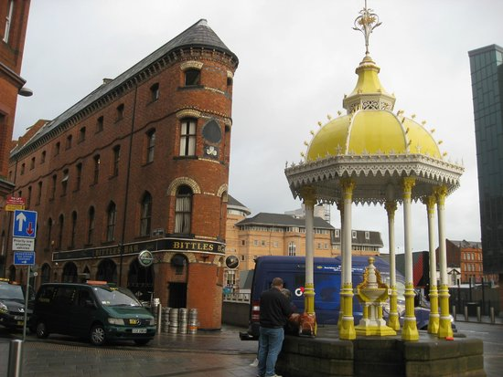 Bittles Bar: Unmistakably fabulous corner of Belfast.