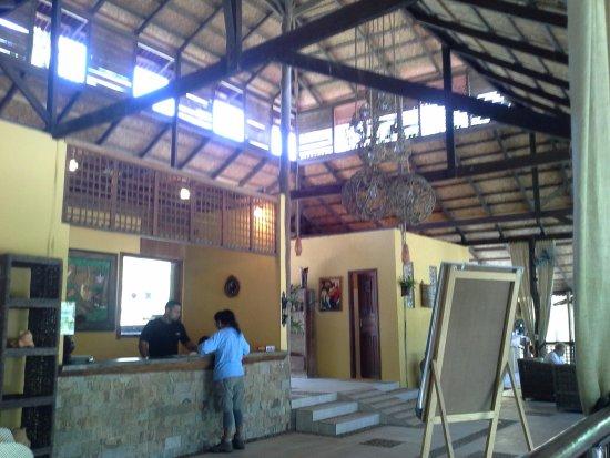 Amazon Ecopark Jungle Lodge: Reception Area