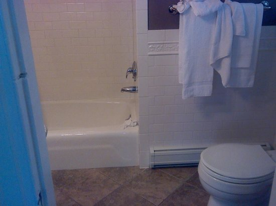 Longwood Inn : Shower