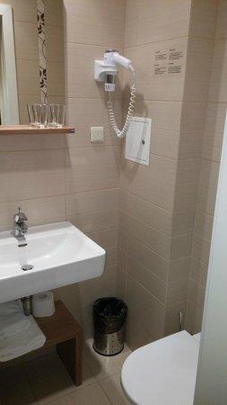 Algirdas City Hotels: ванная