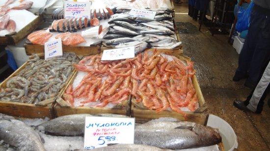 Central Market: fish