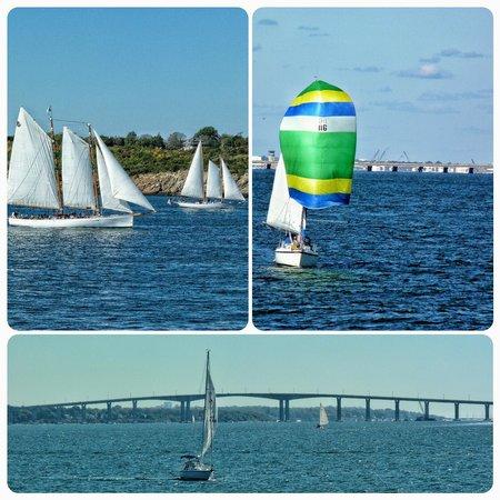 Rhode Island Bay Cruises: boats