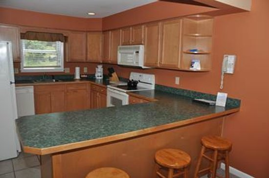 Lake Placid Club Lodges: Full Kitchen