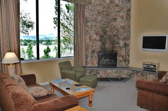 Lake Placid Club Lodges: Living Room
