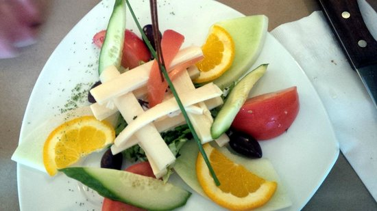 Saint Andre-Avellin, Canada: Salade du Bistrot