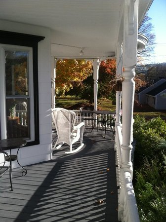 Glynn House Inn : Porch