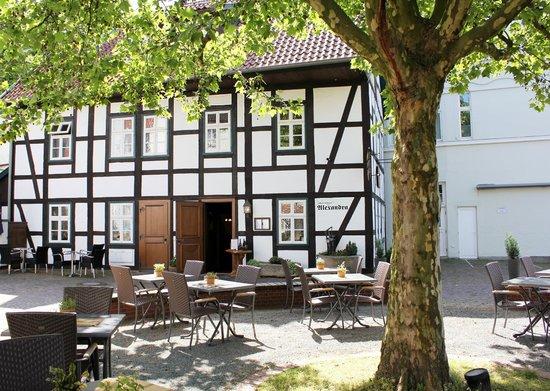 Bad Salzuflen, Alemanha: Mit Terrasse, direkt in der Innenstadt.