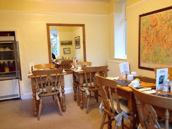 Mosscrag B&B: Breakfast room