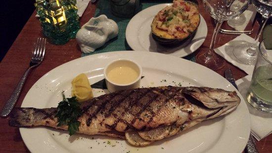 Pionfish Branzino Fish Served Whole At The Pion In Reston Va