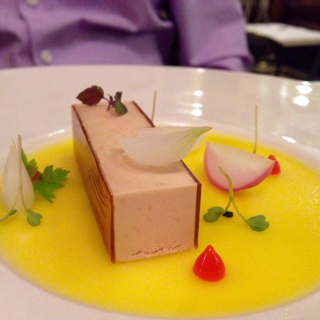 Salon Fine Dining Restaurant: Goose liver