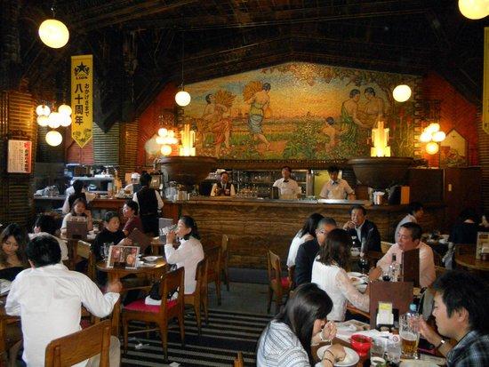 Beer Hall Lion Ginza 5Chome: Vista interna