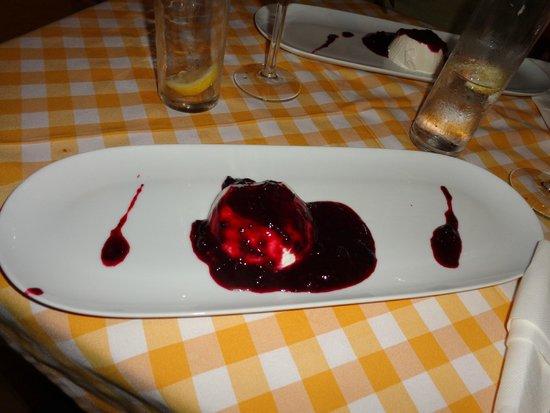 Frascati: Panna cotta
