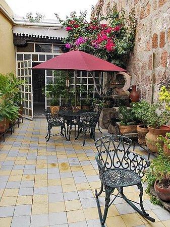 Casona Rosa, Morelia: The Magic Patio, Casona Rosa