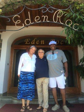 Hotel Eden Roc : With owner Dominic Casola