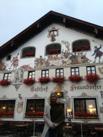 Gasthof Fraundorfer : fachado do restaurante