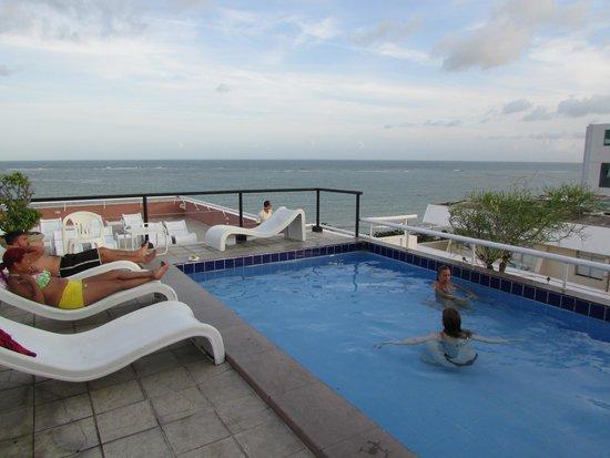 Piscina da cobertura foto de paju ara praia hotel for Cobertura piscina