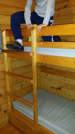 Yogi Bear's Jellystone Park - Ashland: One bunk bed in deluxe cabin