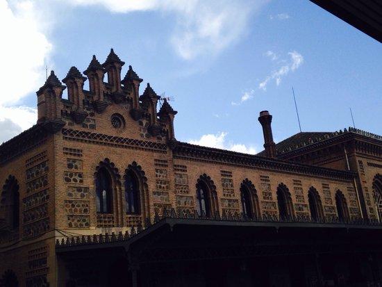 Estación del Ferrocarril: Estación de tren