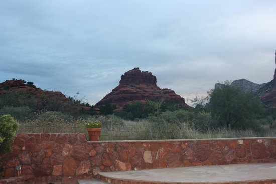 Red Agave Resort: View from our room