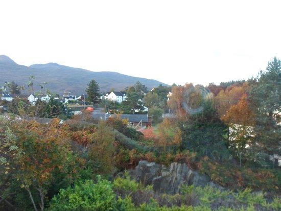Ardenlea: View from breakfast table