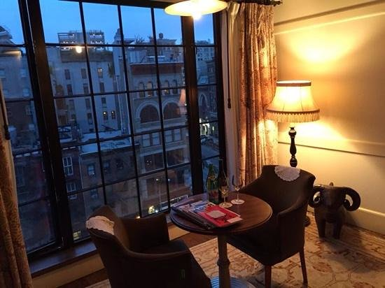 The Bowery Hotel: Room view