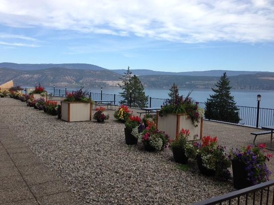 Lake Okanagan Resort: View from Terrace 3