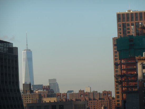 Magnuson Convention Center Hotel: View of New World Trade Center