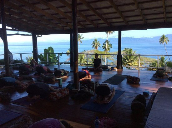Daku Resort : Yoga in the morning