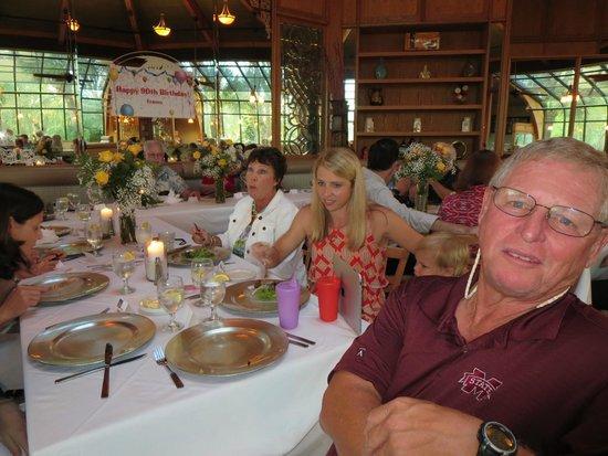 Sea Star Cafe & Bar : Family enjoying the party