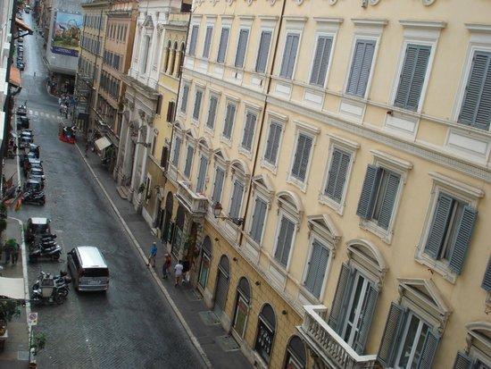 King Hotel: Vista desde la habitación