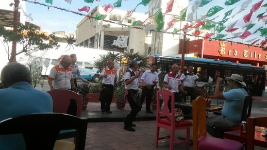 Mextreme: Staff entertaining the guests
