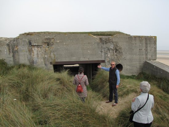 Normandy D Day Tours German Bunker On Utah Beach
