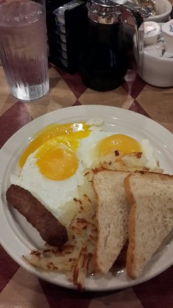 Ohio House Motel: Desayuno de Ohio House 2014