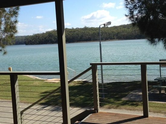Lake Conjola Entrance Holiday Park: Morning View from Balcony